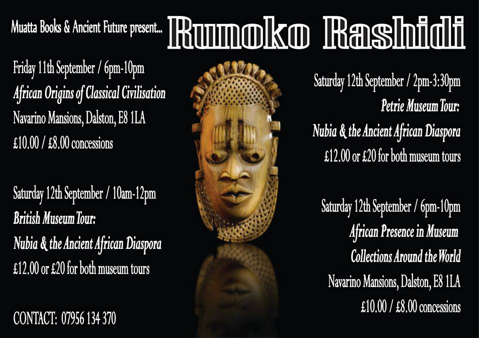 Runoko in London
