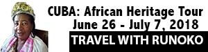 CUBA: African Heritage June 26 – July 7, 2018